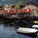 03isole lofoten - a i lofoten case tipiche e barche